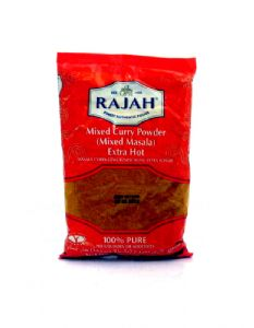 Rajah Mixed Extra Hot Curry Powder (Mixed Masala) | Buy Online at The Asian Cookshop.